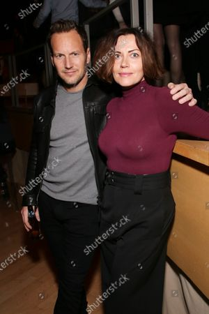 Stock Image of Patrick Wilson and Dagmara Dominczyk