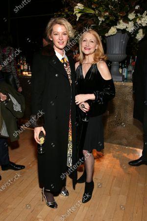 Gretchen Mol and Patricia Clarkson