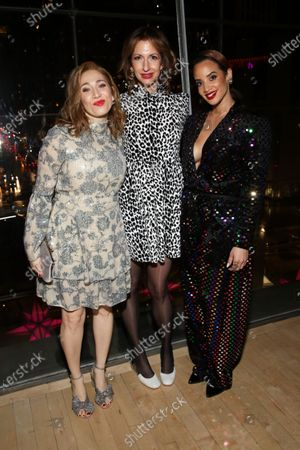 Regina Spektor, Alysia Reiner, and Dascha Polanco