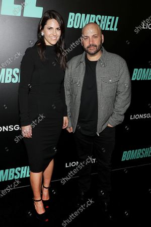 "Editorial image of New York Special Screening of LIONSGATE'S ""BOMBSHELL"" at the Frederick P. Rose Theater in NYC, USA - 16 Dec 2019"