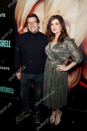 """Editorial image of New York Special Screening of LIONSGATE'S """"BOMBSHELL"""" at the Frederick P. Rose Theater in NYC, USA - 16 Dec 2019"""