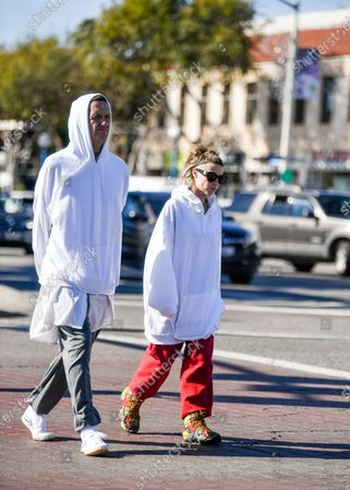 Editorial picture of Die Antwoord Out And About, Los Angeles, USA - 16 Dec 2019