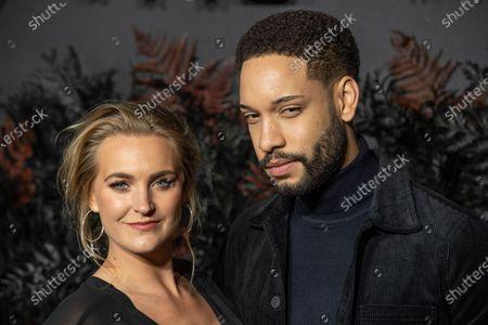 Stock Picture of Natalie Herron and Royce Pierreson