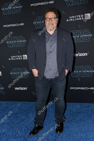 Jon Favreau arrives at the premiere of Star Wars: The Rise of Skywalker at the El Capitan Theater in Hollywood, California, USA, 16 December 2019.
