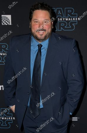 Greg Grunberg arrives at the premiere of Star Wars: The Rise of Skywalker at the El Capitan Theater in Hollywood, California, USA, 16 December 2019.
