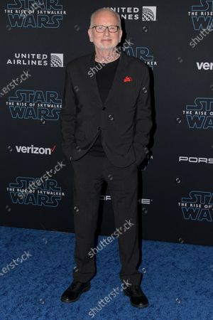 Ian McDiarmid arrives at the premiere of Star Wars: The Rise of Skywalker at the El Capitan Theater in Hollywood, California, USA, 16 December 2019.