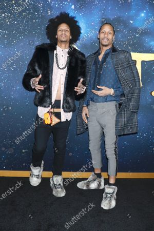 Stock Image of Larry Nicolas Bourgeois and Laurent Bourgeois, Les Twins