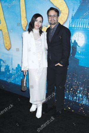 Natalie Walker and Lin-Manuel Miranda