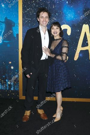 Stock Picture of Reeve Carney and Eva Noblezada
