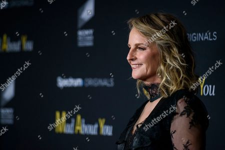 """Helen Hunt attends the premiere of Spectrum Originals' """"Mad About You"""" at the Rainbow Room, in New York"""