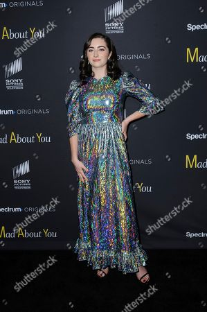 """Abby Quinn attends the premiere of Spectrum Originals' """"Mad About You"""" at the Rainbow Room, in New York"""