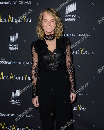 """Helen Hunt attends the premiere of Spectrum Originals' """"Mad About You,"""" at the Rainbow Room, in New York"""
