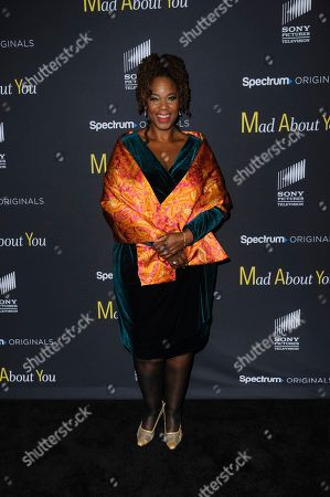 """Stock Image of Kecia Lewis attends the premiere of Spectrum Originals' """"Mad About You"""" at the Rainbow Room, in New York"""