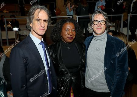 Stock Picture of Jay Roach (Director), Tarana Burke, Charles Randolph (Writer)