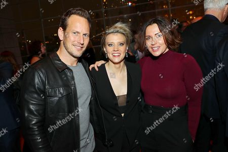 Patrick Wilson, Kate McKinnon and Dagmara Dominczyk