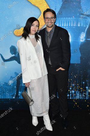 Stock Photo of Natalie Walker and Lin-Manuel Miranda