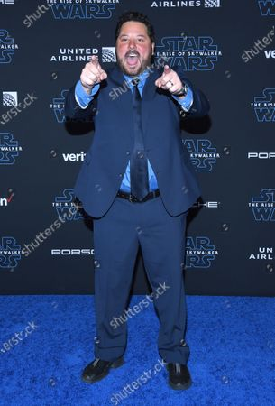 Editorial image of 'Star Wars: The Rise of Skywalker' film premiere, Arrivals, TCL Chinese Theatre, Los Angeles, USA - 16 Dec 2019
