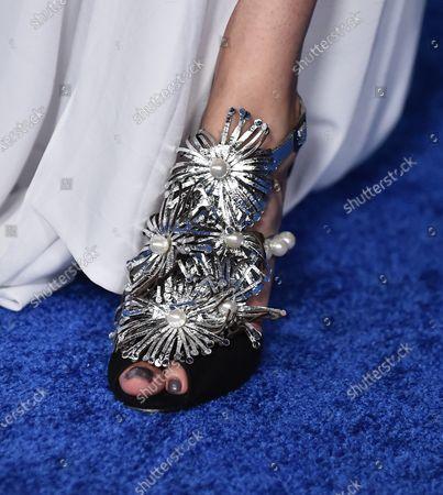 Julieth Restrepo, shoe detail