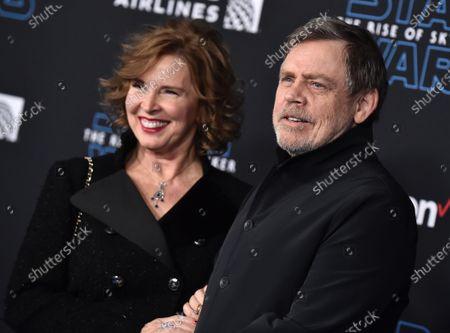 Mark Hamill and Marilou York