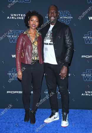 Glenita Mosley and Rick Famuyiwa