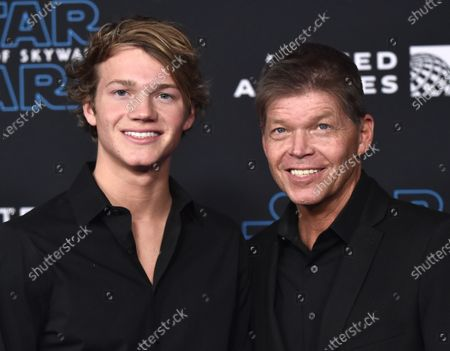 Stock Image of Chase Liefeld and Rob Liefeld