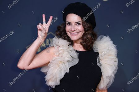 Gitta Saxx poses during the premiere of the third season of the TV series 'Babylon Berlin' at the Zoo Palast in Berlin, Germany, 16 December 2019 (issued 17 December 2019). The German crime drama is based on novels by author Volker Kutscher.