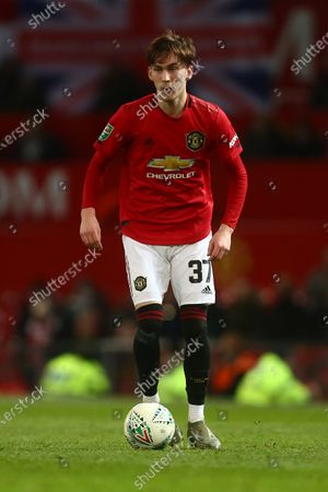 Editorial photo of Manchester United v Colchester United, EFL Carabao Cup, Quarter-Final, Football, Old Trafford, UK - 18 Dec 2019