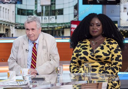Stock Image of Martin Bell and Afua Adom