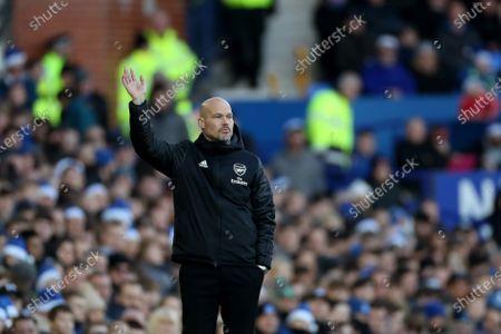 Arsenal caretaker manager Freddie Ljungberg