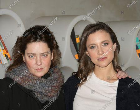 Nicole Fornaro and Giovanna Mezzogiorno
