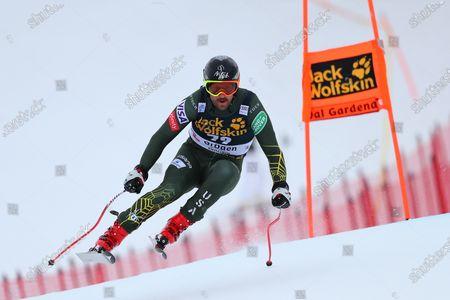Editorial photo of Men's Downhill Skiing, Training, Val Gardena, Italy - 19 Dec 2019