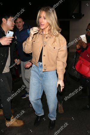 Editorial picture of Ellie Goulding out and about, London, UK - 17 Dec 2019