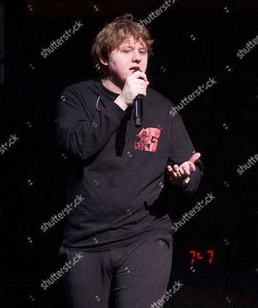 Lewis Capaldi performs in concert during Hot 99.5's iHeartRadio Jingle Ball 2019 at the Capital One Arena, in Washington, D.C