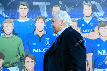 21st December 2019, Goodison Park, Liverpool, England; Premier League, Everton v Arsenal : Everton Chairman Bill Kenwright arrives at GoodisonCredit: Conor Molloy/News Images