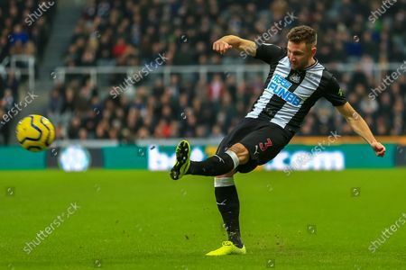 21st December 2019, St. James's Park, Newcastle, England; Premier League, Newcastle United v Crystal Palace : Paul Dummett (03) of Newcastle United during the game