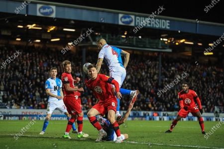 Editorial photo of Blackburn Rovers v Wigan Athletic, EFL Sky Bet Championship, Football, Ewood Park, Blackburn, UK - 23 Dec 2019