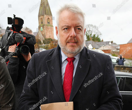 Welsh First Minister Carwyn Jones. - Inquest At Ruthin County Hall Ruthin Denbighshire Into The Death Of Former Welsh Cabinet Minister Carl Sargeant Who Was Found Dead At His Home In Connahs Quay In Nov. 2017. 28/11/18.