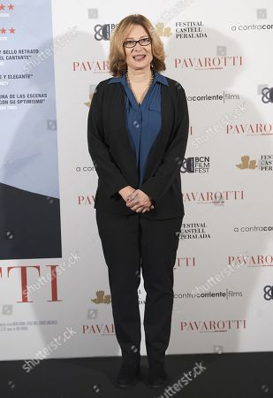 Nicoletta Mantovani, President of the Luciano Pavarotti Foundation