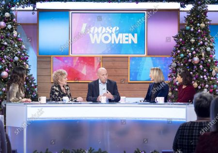 Christine Lampard, Gloria Hunniford, Claude Littner, Carol McGiffin and Saira Khan