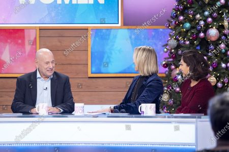 Claude Littner, Carol McGiffin and Saira Khan