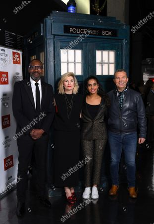 Lenny Henry, Jodie Whittaker, Mandip Gill and Bradley Walsh