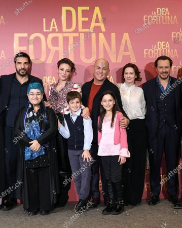 Ferzan Ozpetek, Edoardo Leo, Jasmine Trinca, Pia Lanciotti, Stefano Accorsi, Serra Yilmaz, Edoardo Brandi, Sara Ciocca