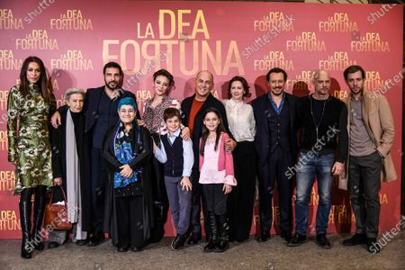 Edoardo Leo, Jasmine Trinca, Ferzan Ozpetek, Stefano Accorsi con il cast