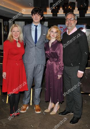 Anna Smith, John Dagleish, Jenn Murray and Rich Cline