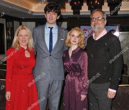 Stock Photo of Anna Smith, John Dagleish, Jenn Murray and Rich Cline