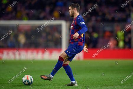 Carlos Perez of FC Barcelona