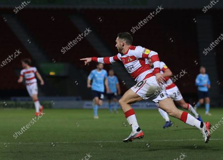 Editorial picture of Doncaster Rovers v Accrington Stanley, EFL Sky Bet League One, Football, Keepmoat Stadium, UK - 21 Dec 2019