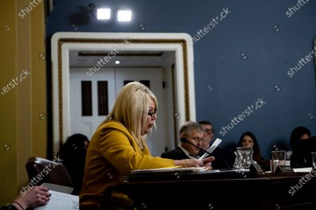 Representative Debbie Lesko (C) speaks during a House Rules Committee hearing on the impeachment against US President Donald J. Trump, on Capitol Hill in Washington, DC, USA, 17 December 2019.