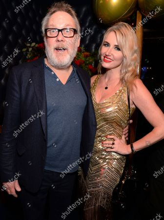 Stock Picture of Vic Reeves and Nancy Sorrell