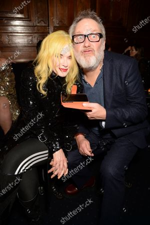 Pam Hogg and Vic Reeves